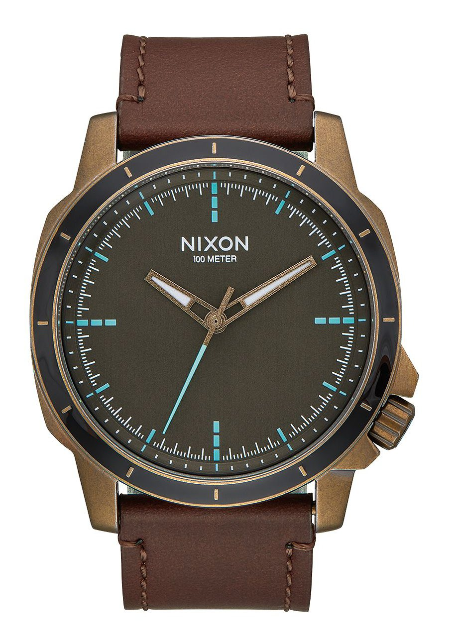 Nixon The Ranger Ops Leather Brass / Brown