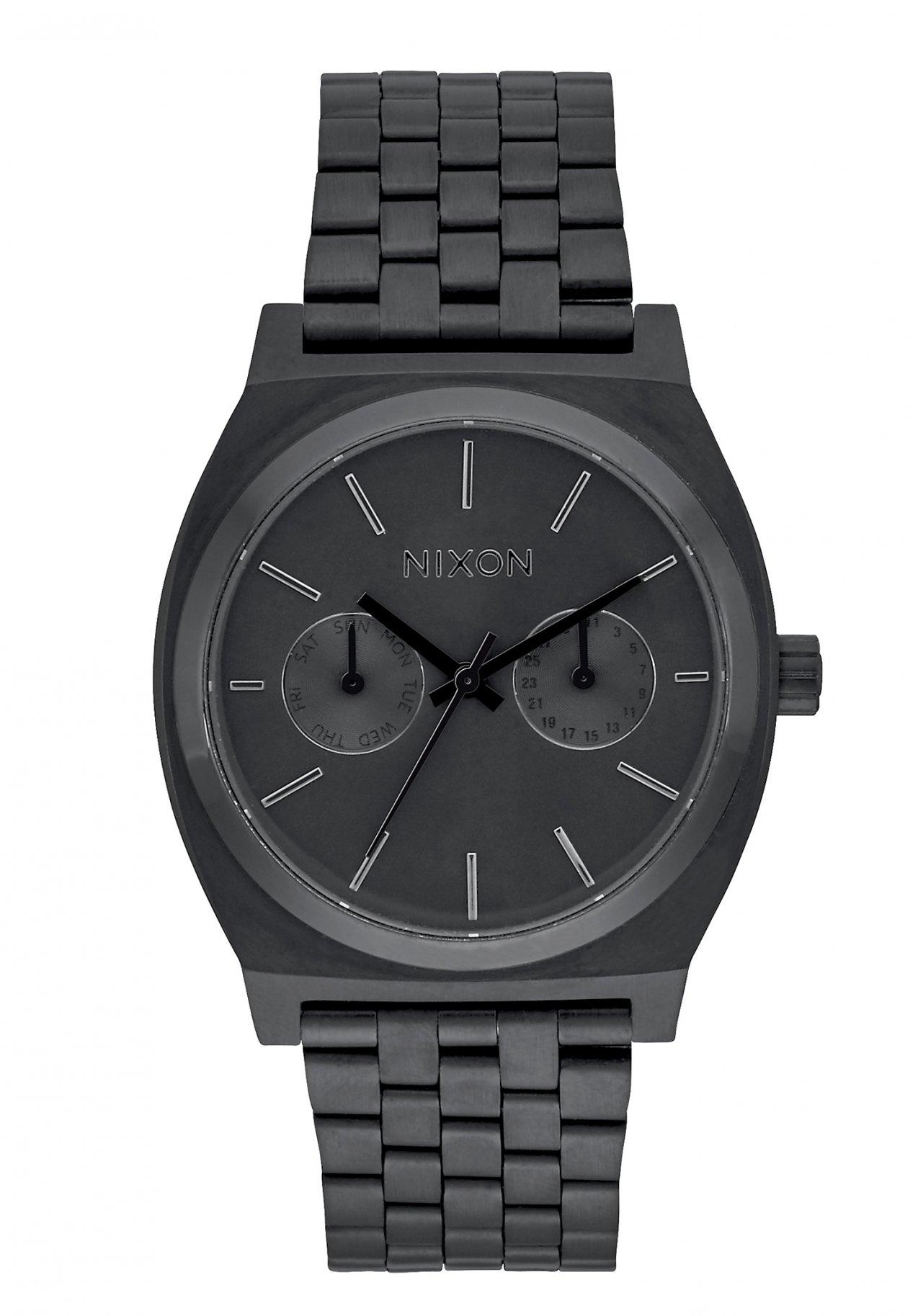 Nixon The Time Teller Deluxe All Black