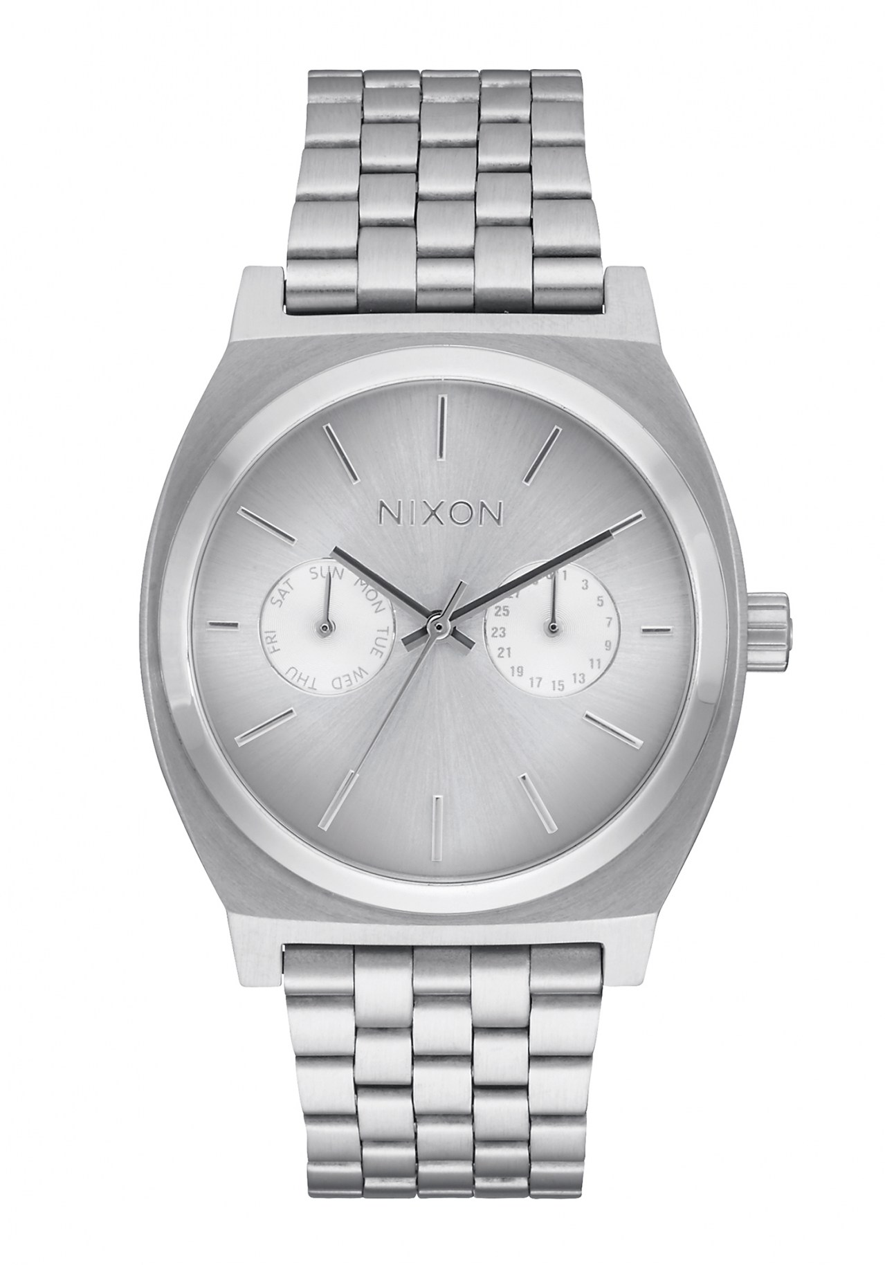 Nixon The Time Teller Deluxe All Silver