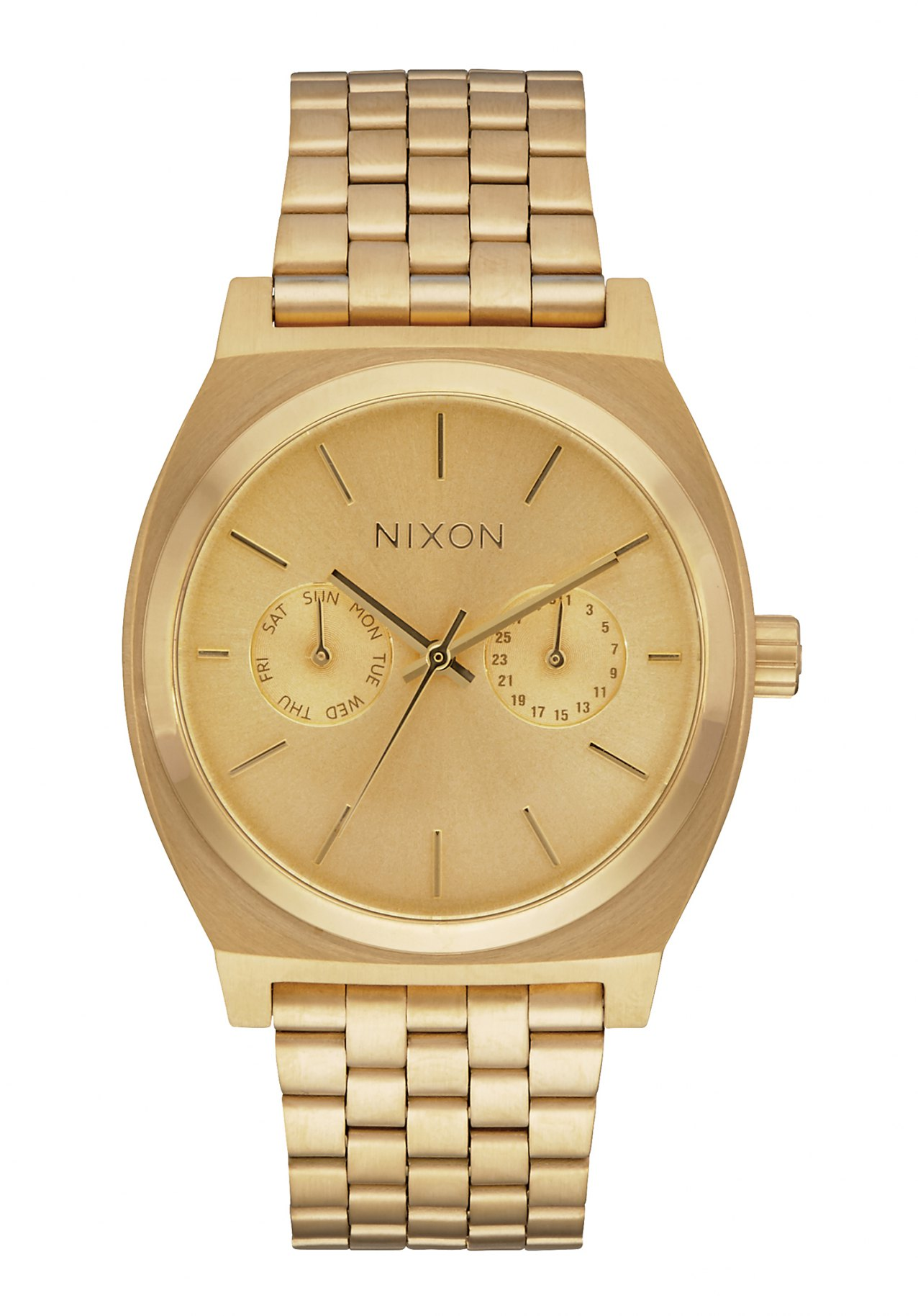 Nixon The Time Teller Deluxe All Gold