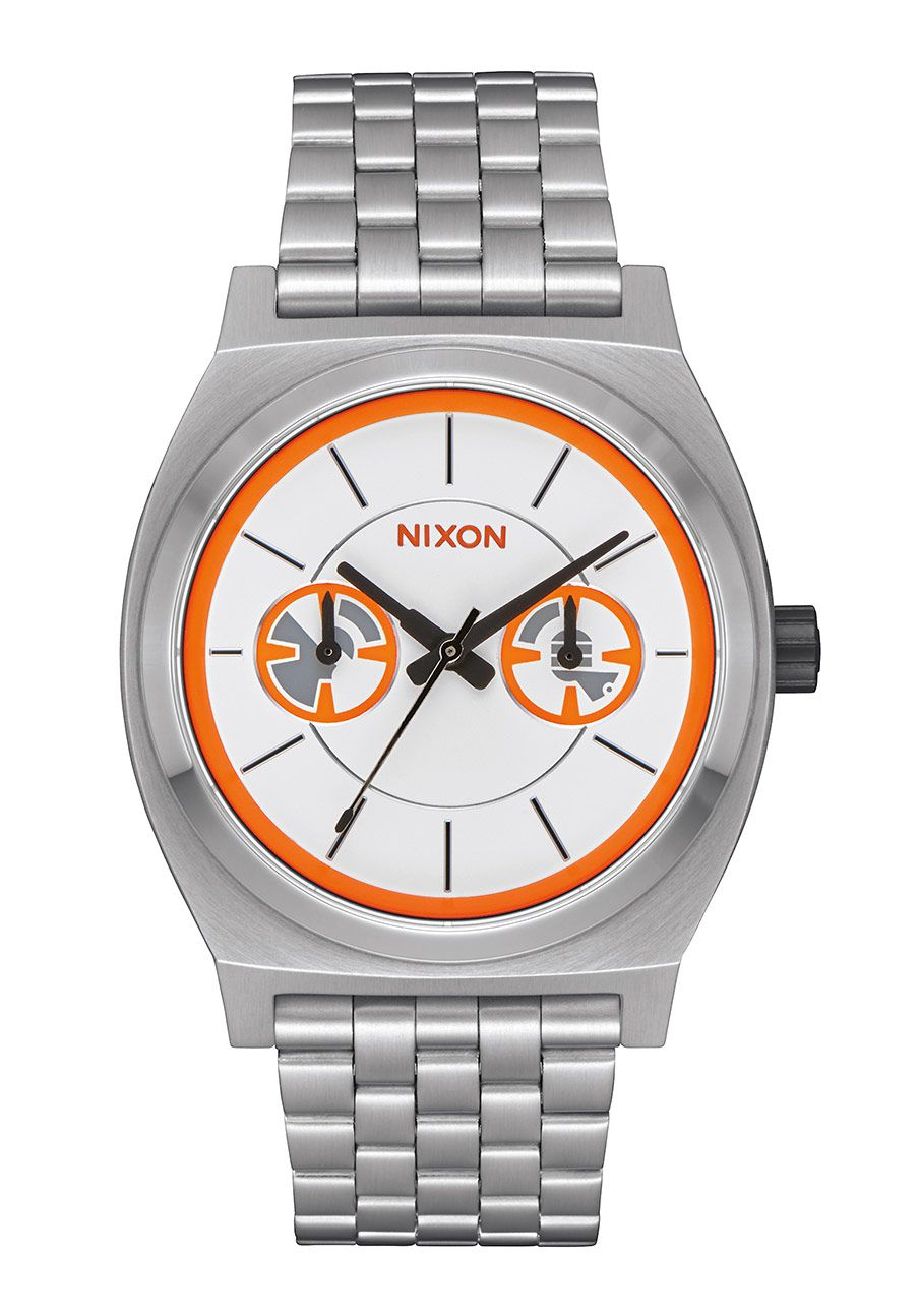 Nixon The Time Teller Deluxe SW BB-8 Silver / Orange