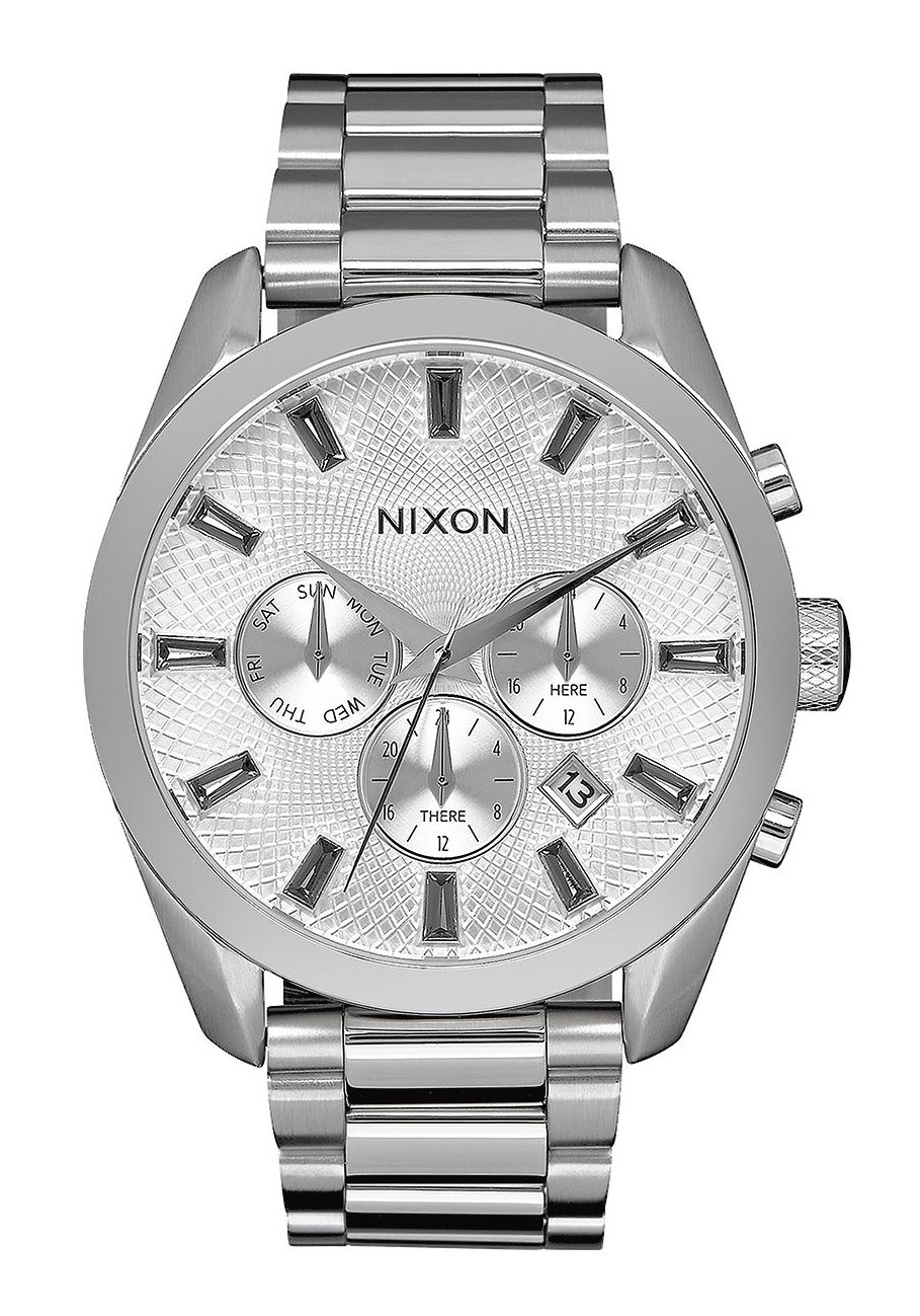 Nixon The Bullet Chrono Crystal All Silver