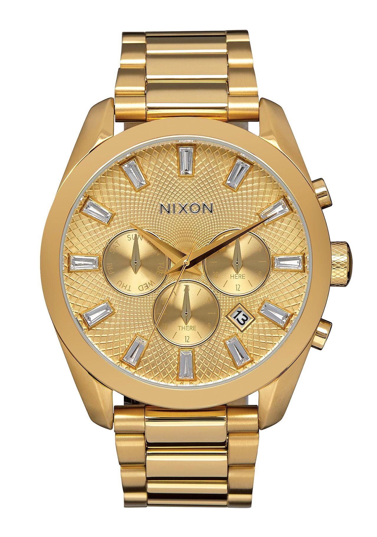 Nixon The Bullet Chrono Crystal All Gold