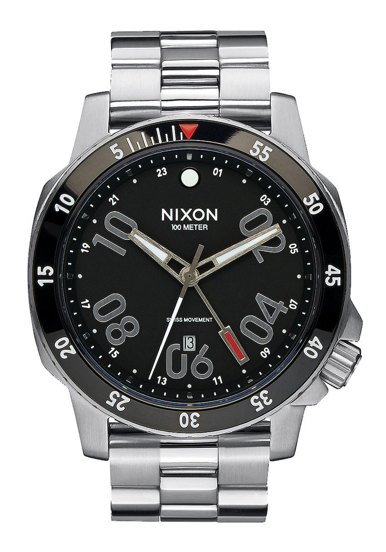 Nixon The Ranger GMT Black