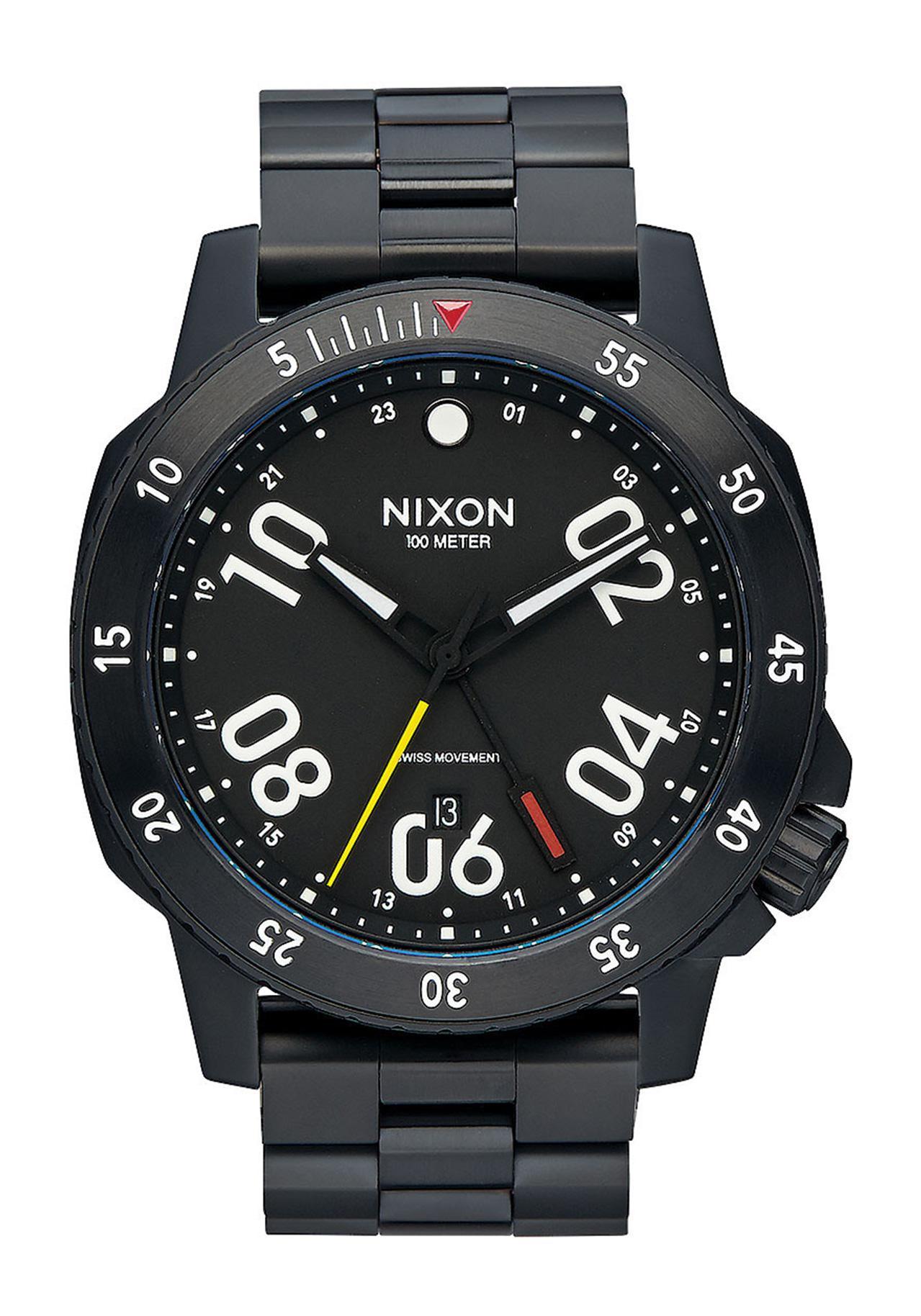 Nixon The Ranger GMT All Black