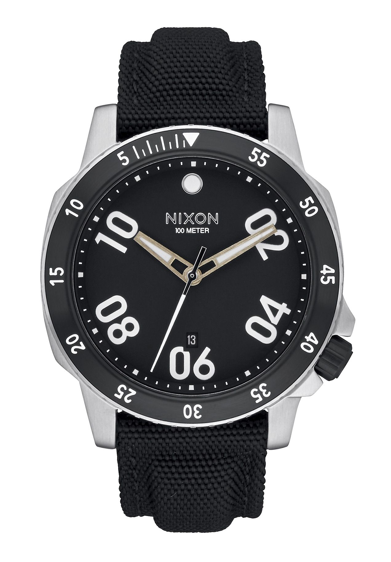 Nixon The Ranger Nylon Black Herrenuhr
