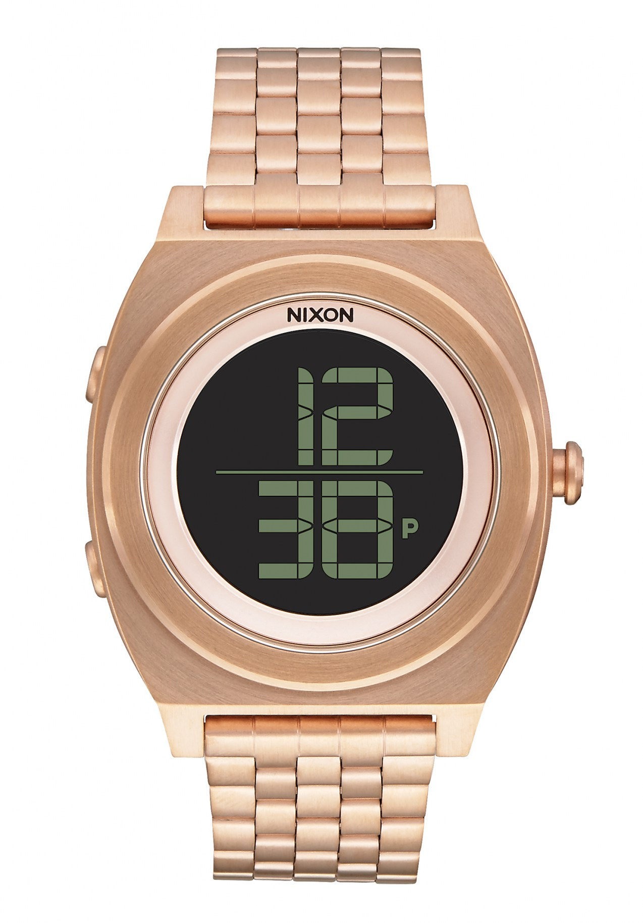 Nixon The Time Teller Digi SS All Rose Gold Armbanduhr