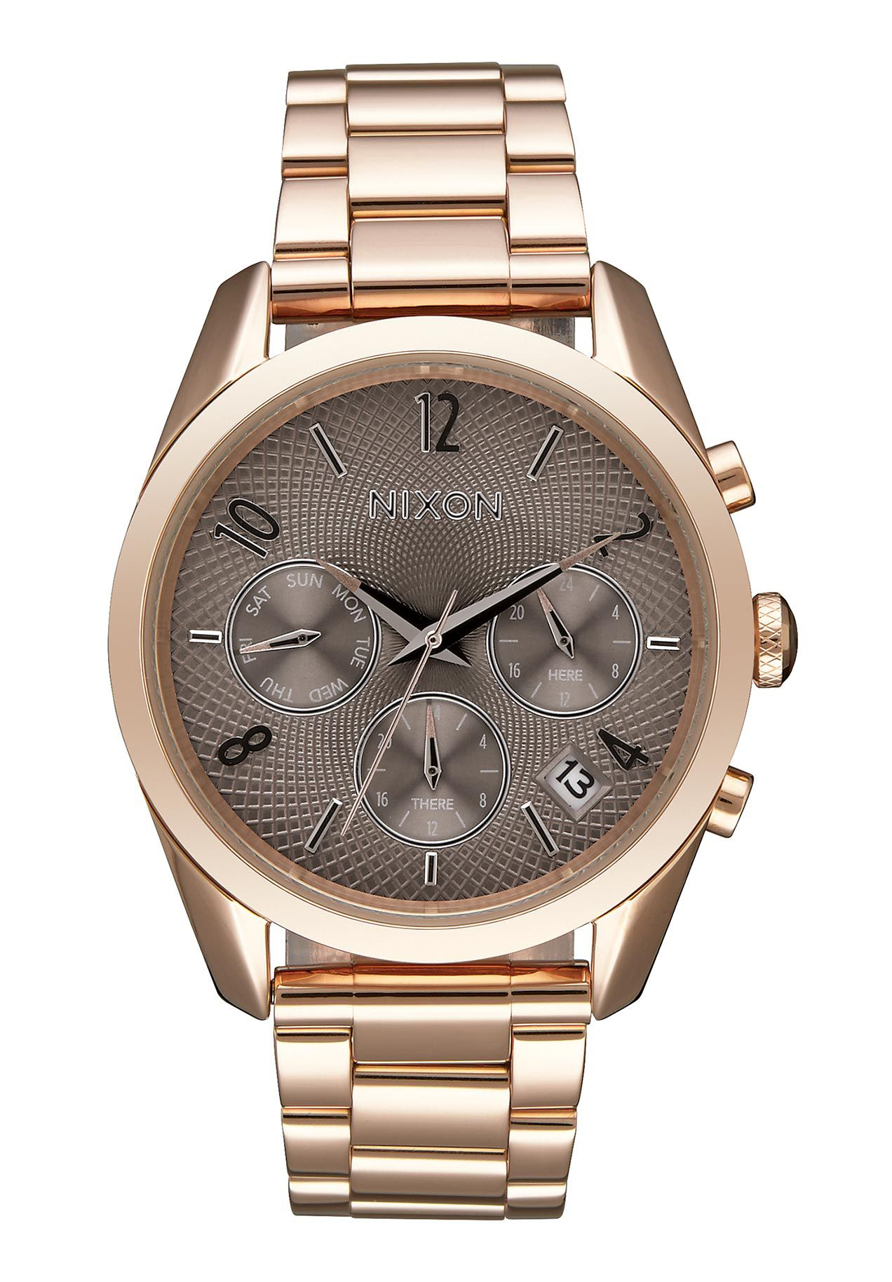 Nixon The Bullet Chrono 36 Rose Gold / Taupe