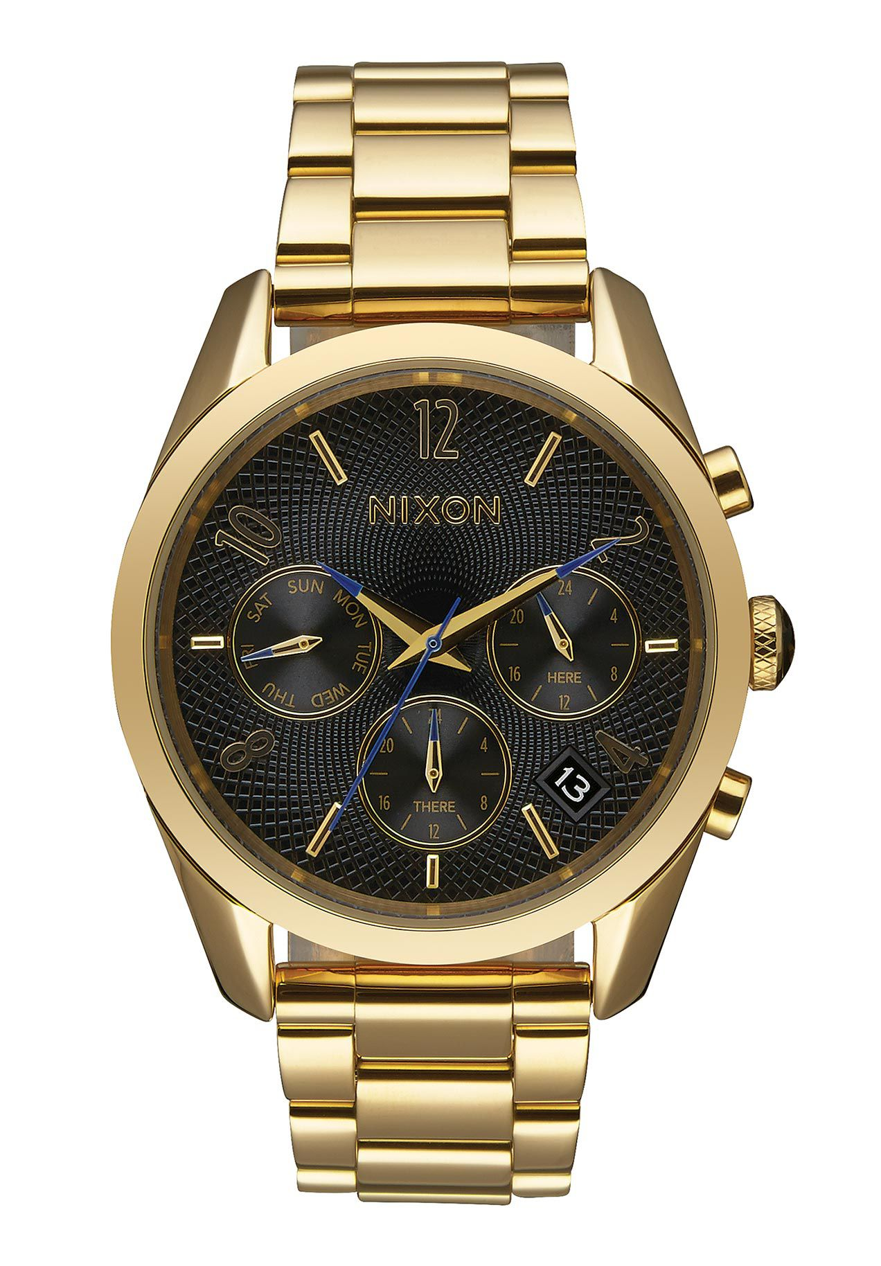 Nixon The Bullet Chrono 36 All Gold / Black