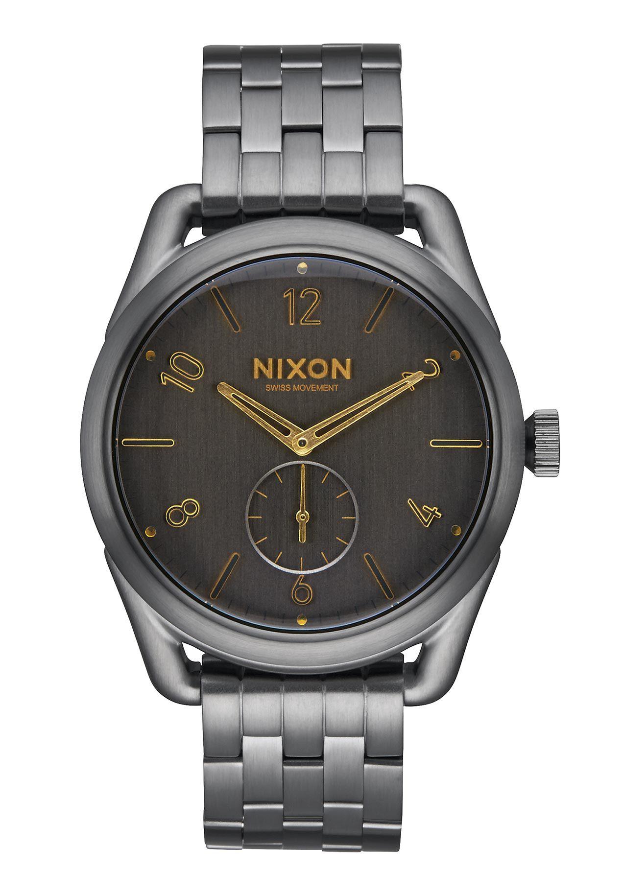 Nixon The C39 SS All Gunmetal Gold Damenuhr