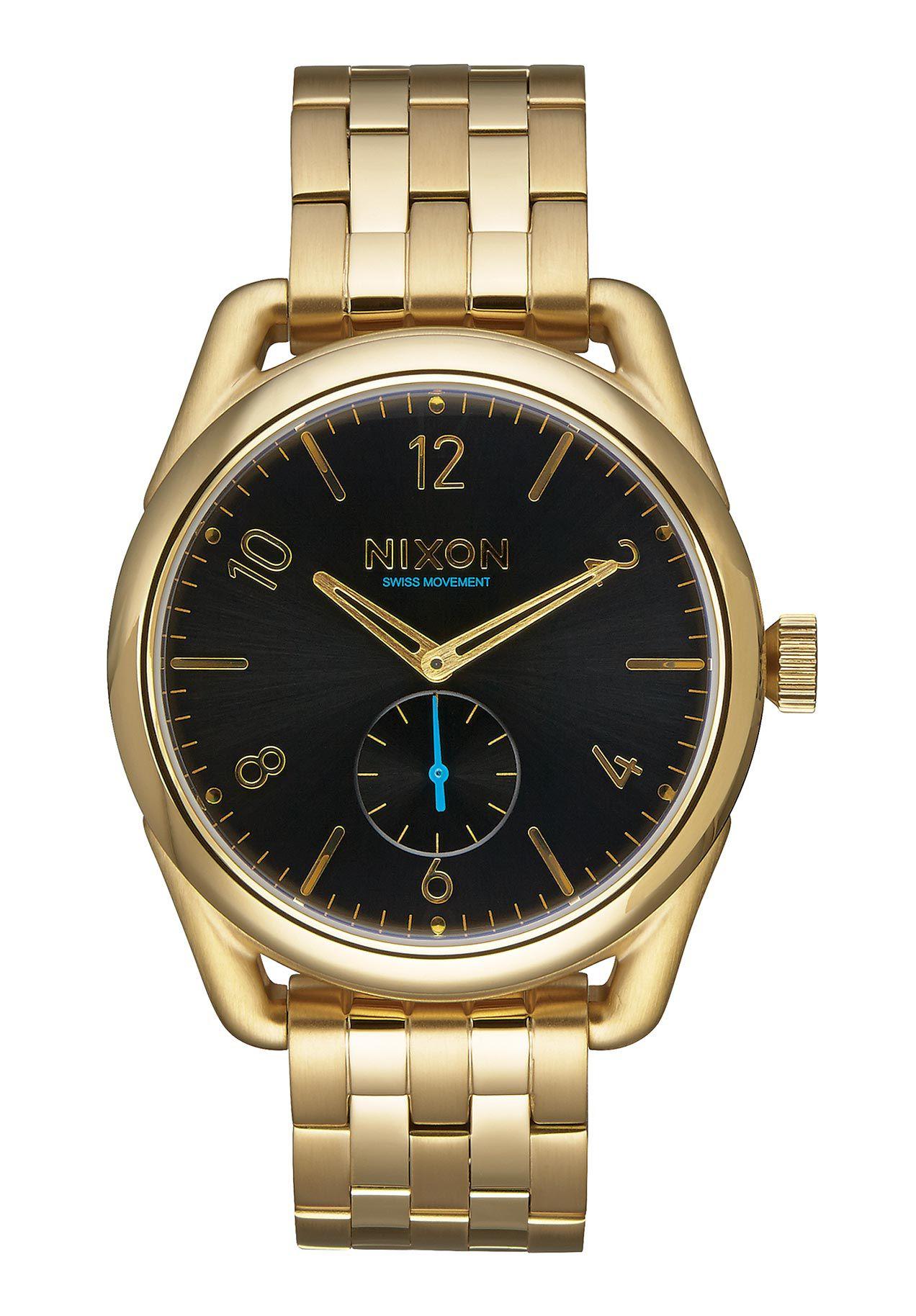 Nixon The C39 SS All Gold Black Damenuhr