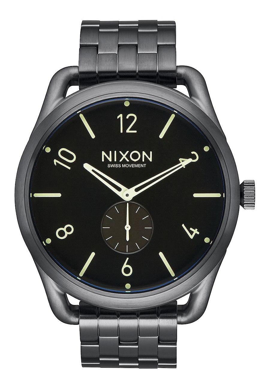 Nixon The C45 SS All Gunmetal Lum Herrenuhr