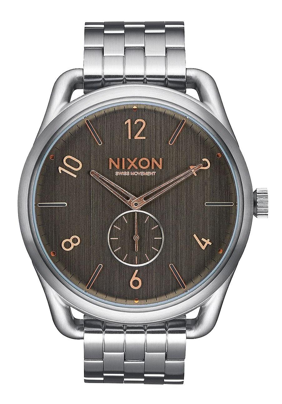 Nixon The C45 SS Grey Rose Gold Herrenuhr
