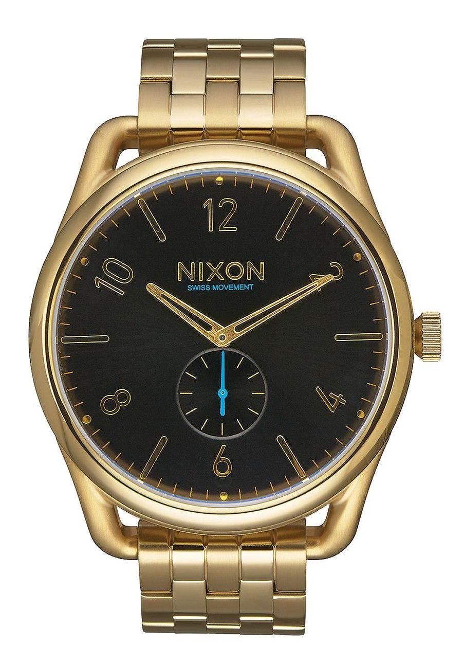 Nixon The C45 SS All Gold Black Herrenuhr