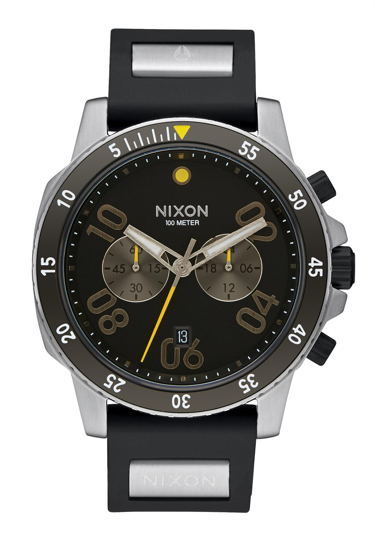 Nixon The Ranger Chrono Sport Black
