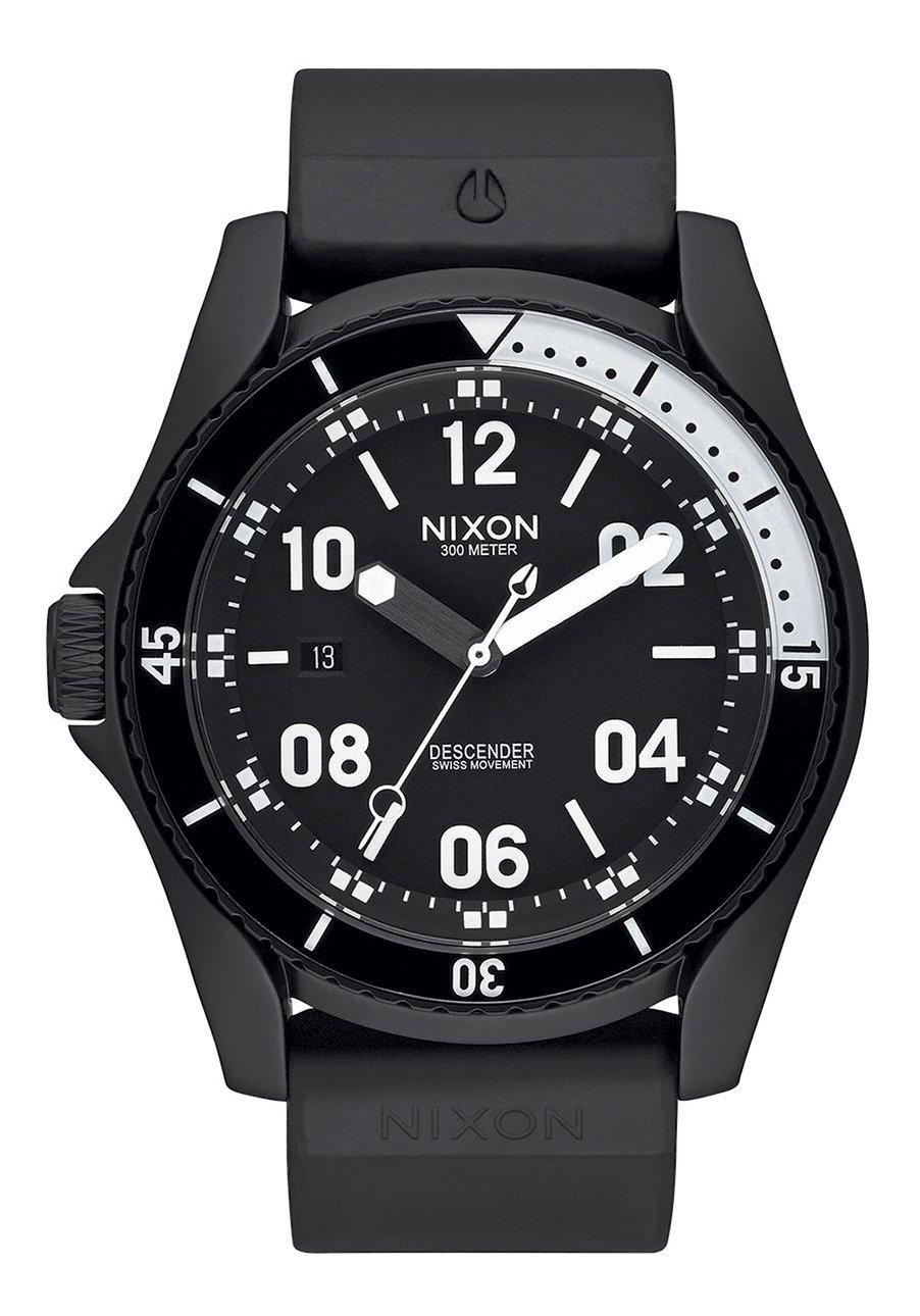 Nixon The Descender Sport All Black Herrenuhr