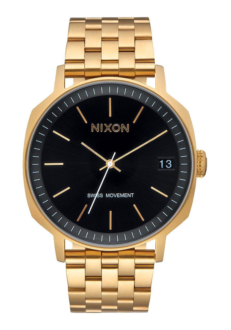 Nixon The Regent II SS Gold / Black Sunray