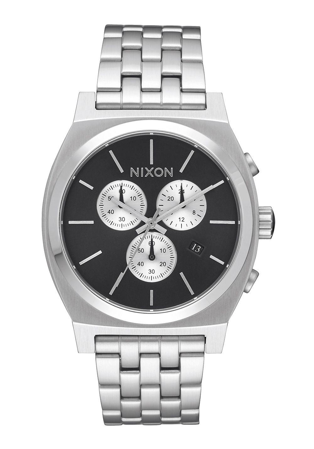Nixon The Time Teller Chrono Black Sunray