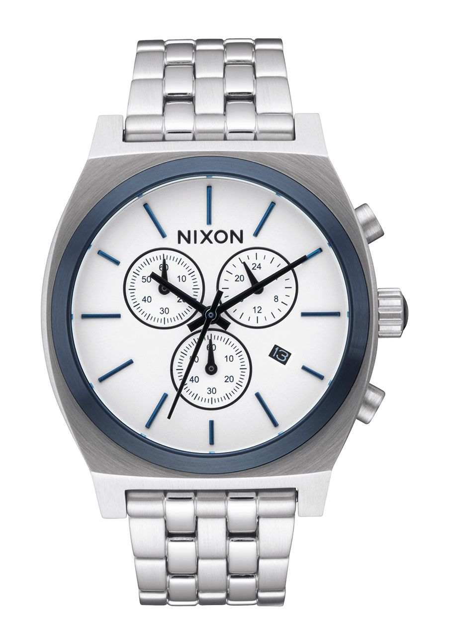 nixon the time teller chrono white sunray a9722450 nur 189 00. Black Bedroom Furniture Sets. Home Design Ideas