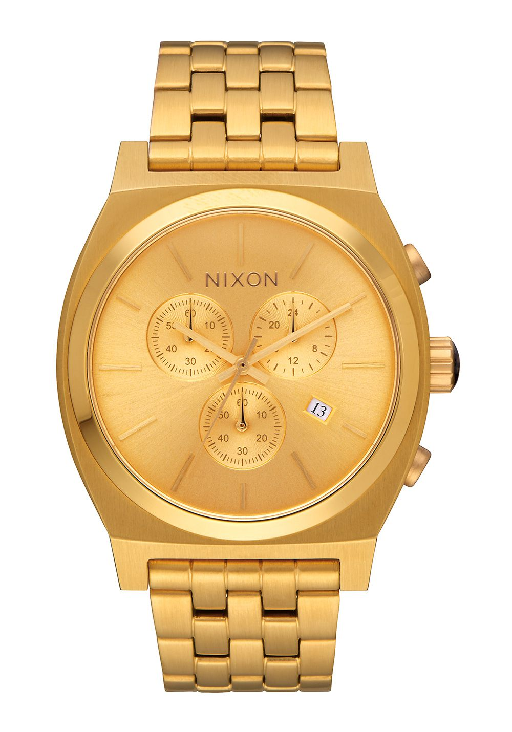 Nixon The Time Teller Chrono All Gold H