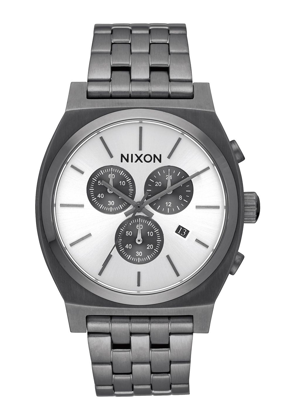 Nixon The Time Teller Chrono All Gunmetal