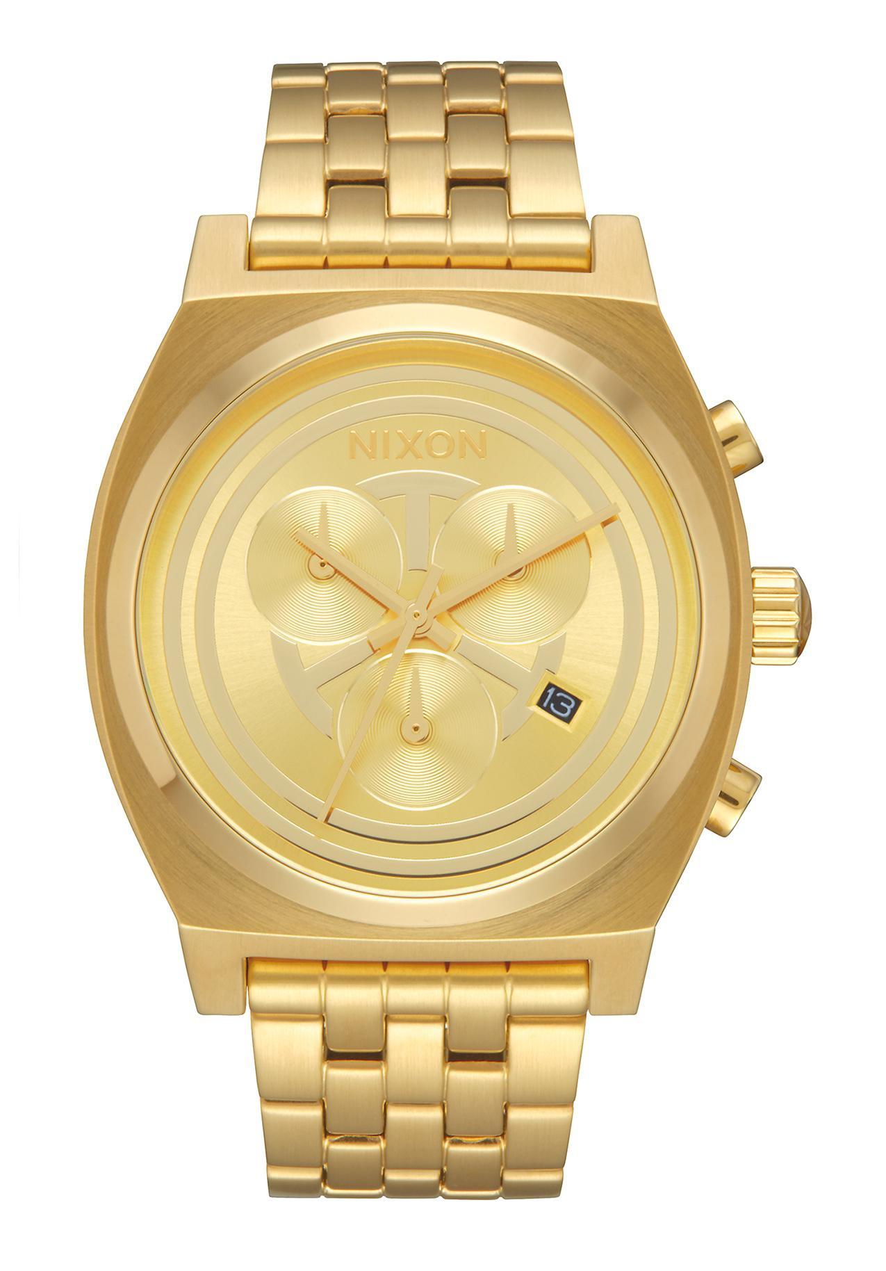 Nixon The Time Teller Chrono Star Wars C-3PO Gold