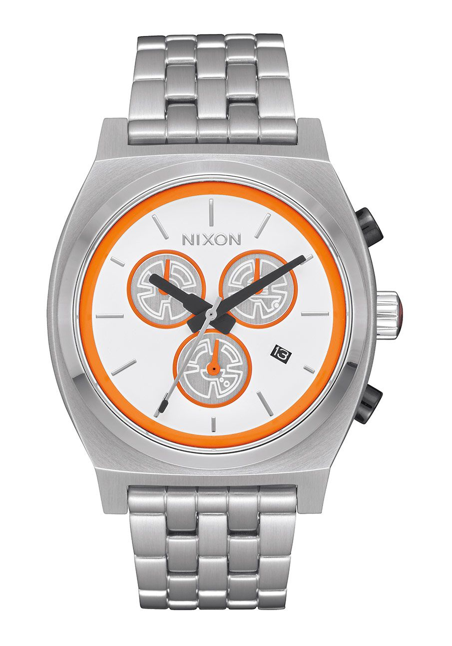 Nixon The Time Teller Chrono SW BB-8 White / Orange