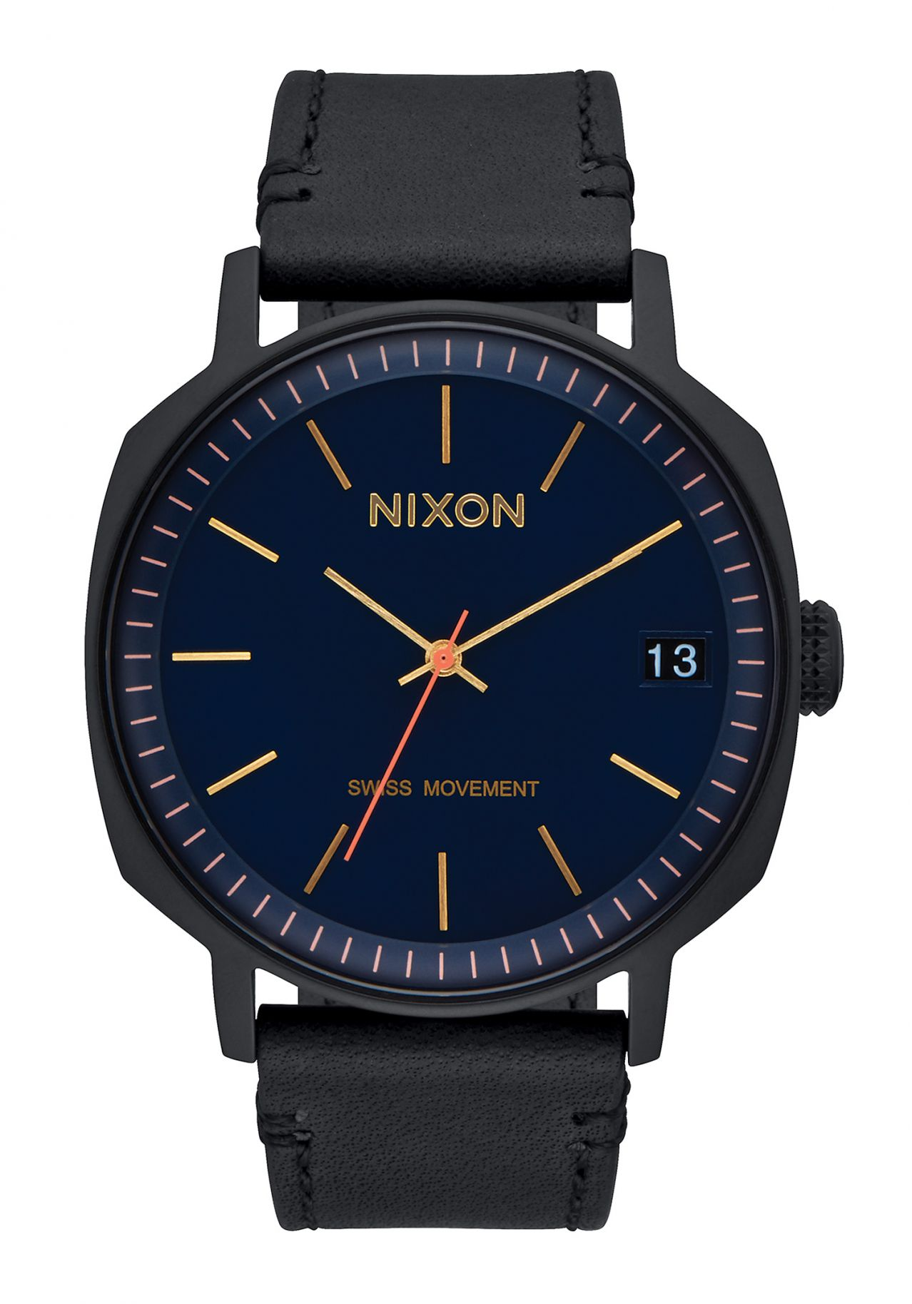 Nixon The Regent II All Black / Navy