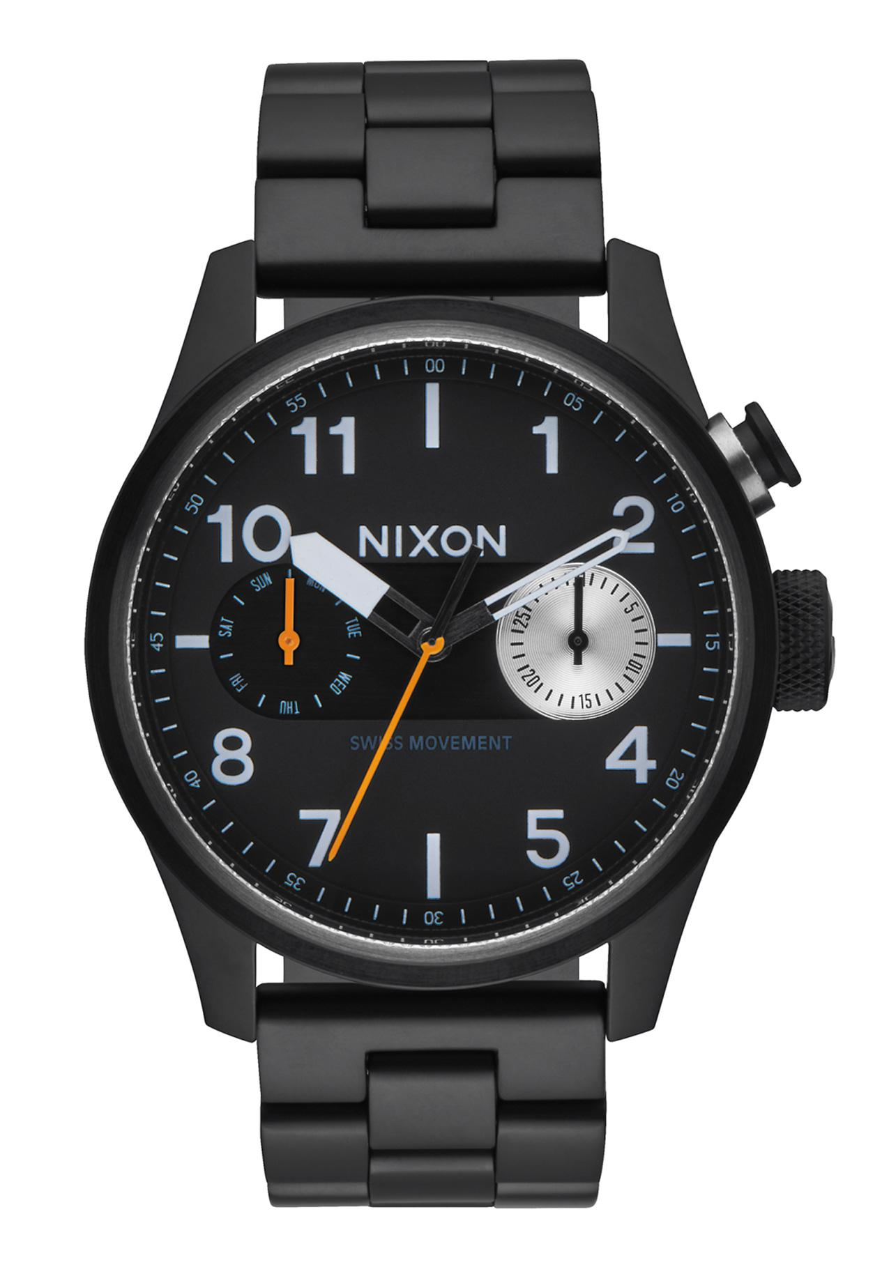 Nixon The Safari Deluxe All Black