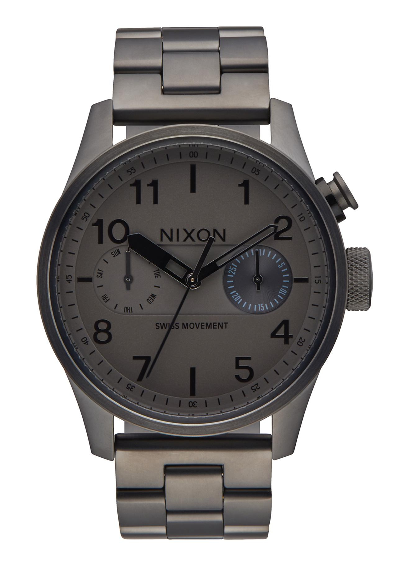 Nixon The Safari Deluxe All Gunmetal
