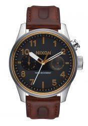 Nixon The Safari Deluxe Leather Black / Brown (A977019)