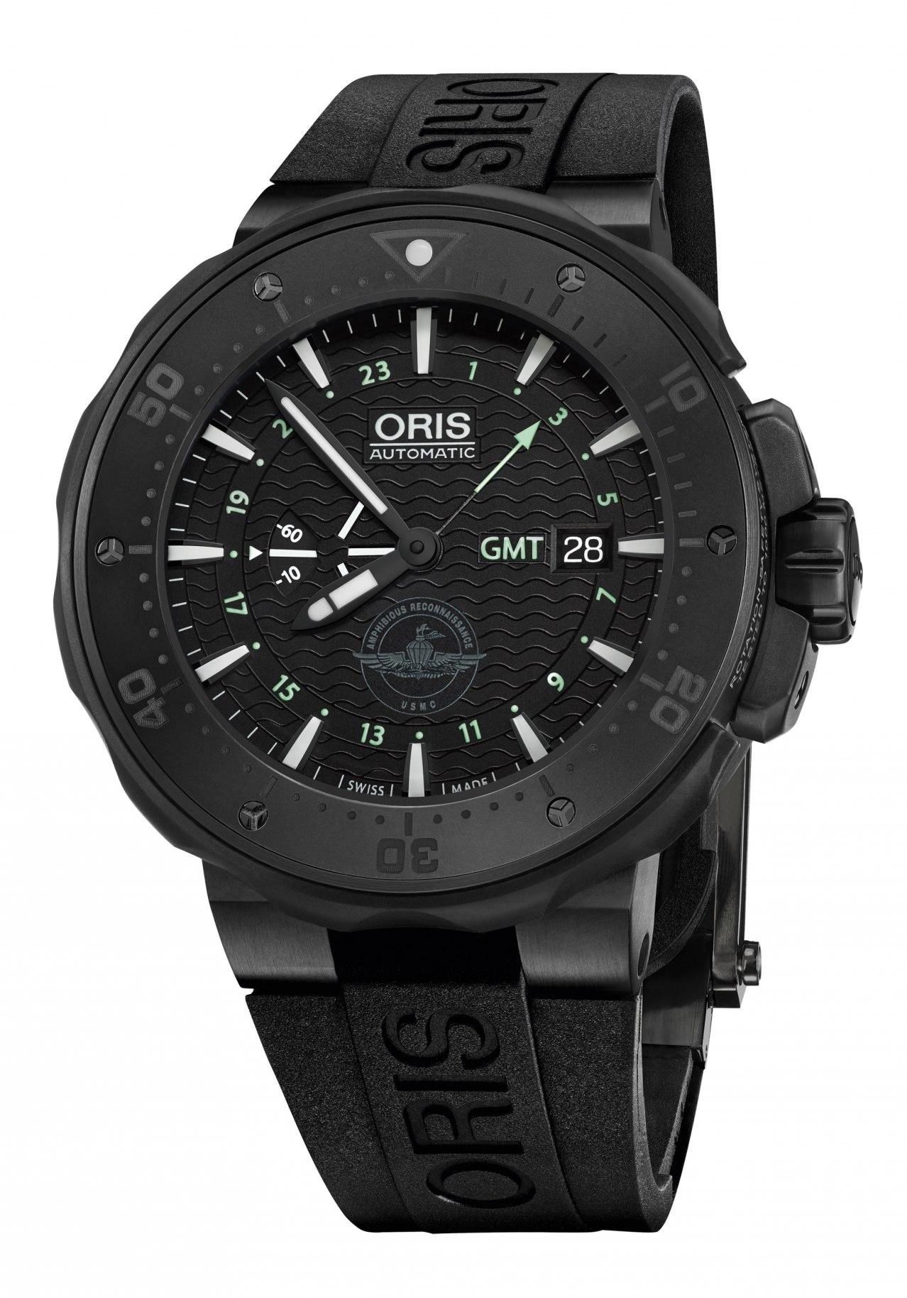 Oris Force Recon GMT Taucheruhr