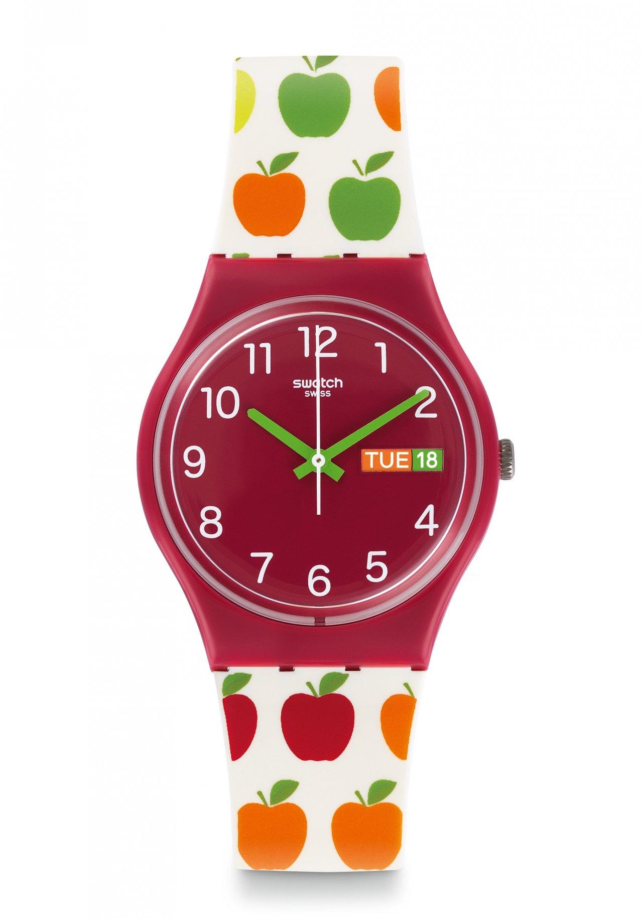 swatch appletini armbanduhr gr707 nur 45 00. Black Bedroom Furniture Sets. Home Design Ideas
