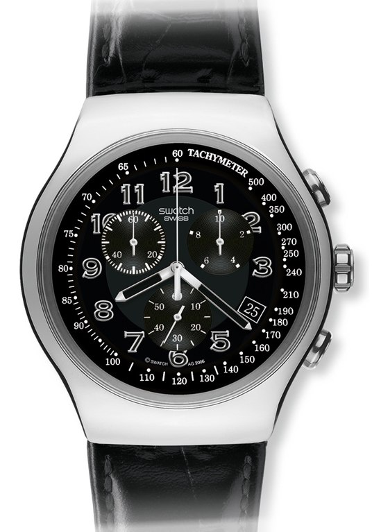 swatch young turn black herrenchronograph yos440 nur 175 00. Black Bedroom Furniture Sets. Home Design Ideas