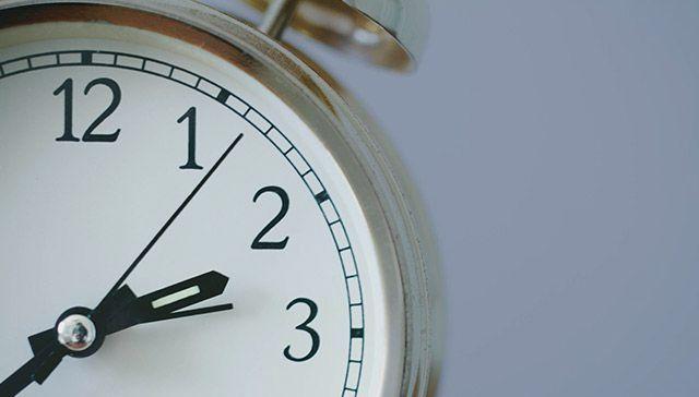 Aktuelle Uhrzeit Zeitumstellung