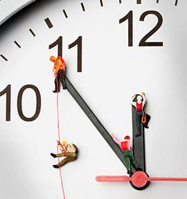 Lebenspartner Vollbild-Uhr online kostenlos